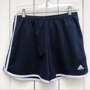 Adidas Navy Blue White Athletic Shorts Medium